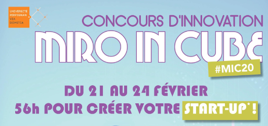 Miro In Cube 2020 - Concours d'Innovation